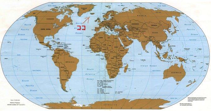 アイスランドって、ドコやねん! というアナタのために地図を用意。 例によってテキトーに作った自分画(社会のノートの端っこに描くような\u2026)なので、アバウトな位置
